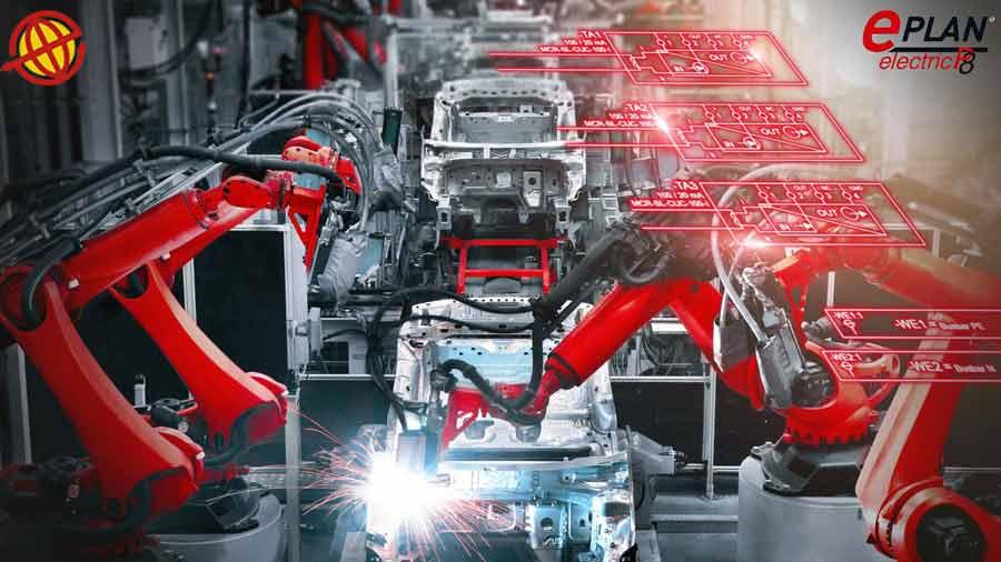 نرم افزار Eplan electric ، قدرتمند ترين نرم افزار طراحي تابلو ها و سيستم هاي الکتريکي